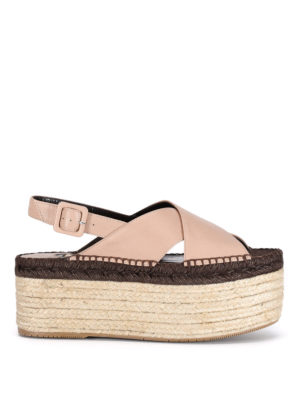 Paloma Barcelò: sandals - Fiona crisscrossed bands sandals