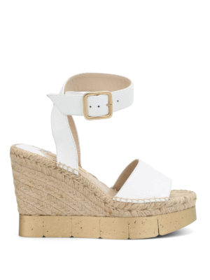 Paloma Barcelò: sandals - Lisette leather wedges