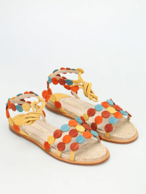 Paloma Barcelò: sandals online - Antibes suede sandals