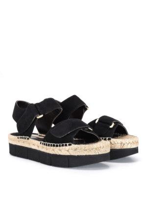 Paloma Barcelò: sandals online - Bersac velcro strap sandals
