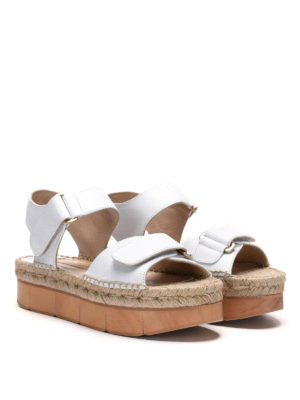 Paloma Barcelò: sandals online - Bersac wood wedge sandals