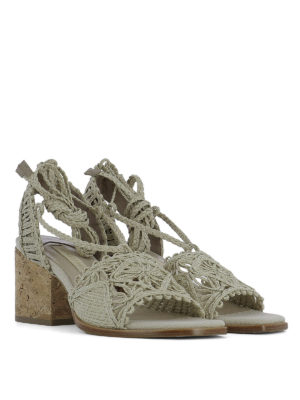 Paloma Barcelò: sandals online - Cely woven rope sandals