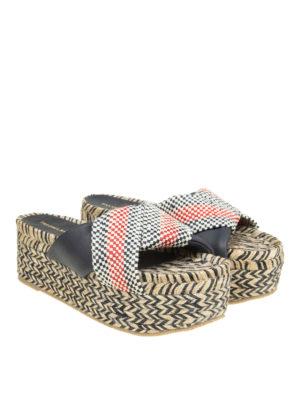 Paloma Barcelò: sandals online - Elebolo flatform wedge sandals