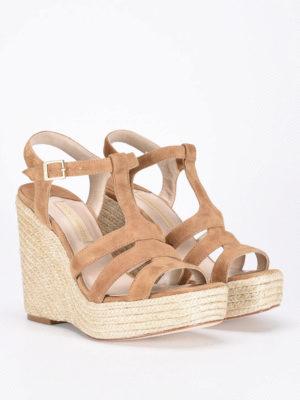 Paloma Barcelò: sandals online - Ferelle jute wedge sandal