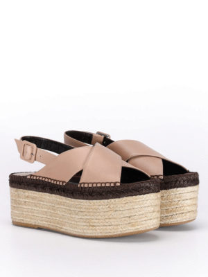 Paloma Barcelò: sandals online - Fiona crisscrossed bands sandals