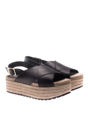 Paloma Barcelò: sandals online - Guaria nappa wedges