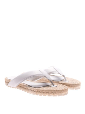 Paloma Barcelò: sandals online - Hisopo nappa thong sandals