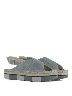 Paloma Barcelò: sandals online - Lynde suede sandals