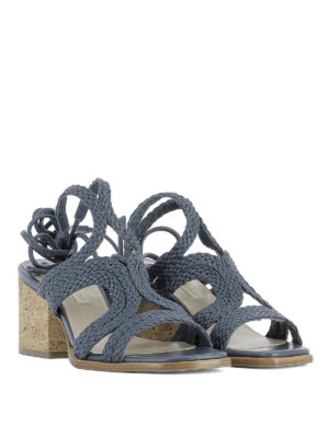 Paloma Barcelò: sandals online - Sigale woven leather sandals
