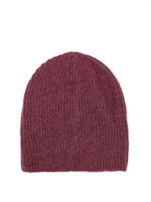 Paolo Fiorillo: berretti - Cappello con intreccio in lurex