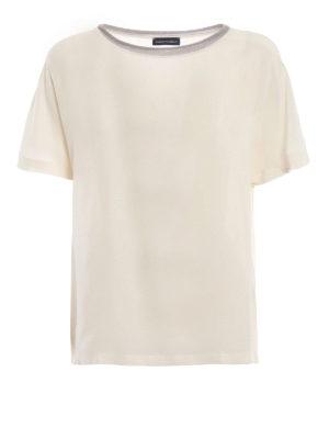 Paolo Fiorillo: bluse - Blusa in seta a maniche corte