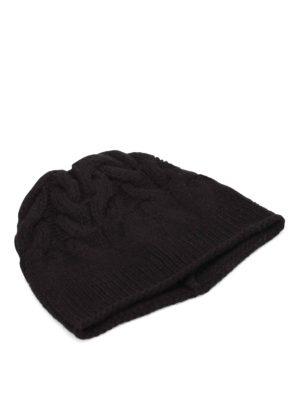 Paolo Fiorillo Capri: beanies - Braided merino wool beanie