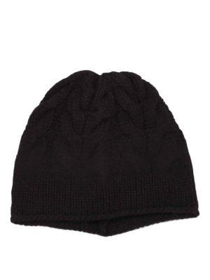 Paolo Fiorillo Capri: beanies online - Braided merino wool beanie