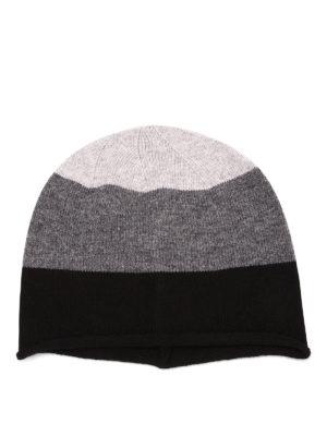 Paolo Fiorillo Capri: beanies online - Striped merino wool beanie