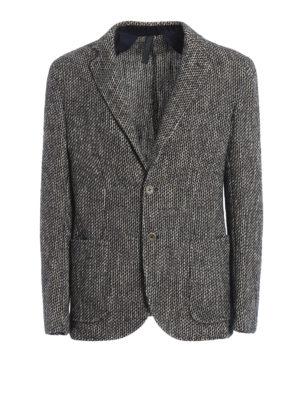 Paolo Fiorillo Capri: blazers - Jacquard unstructured blazer
