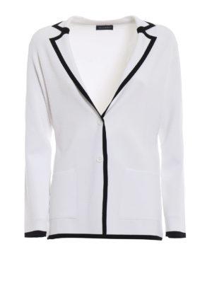 Paolo Fiorillo Capri: blazers - Knitted viscose blazer