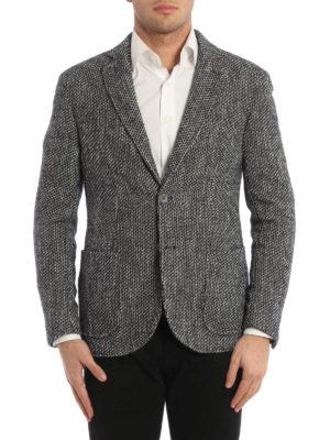 Paolo Fiorillo Capri: blazers online - Jacquard unstructured blazer