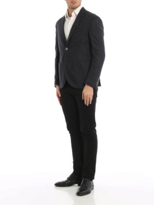 Paolo Fiorillo Capri: blazers online - Wool blend unstructured blazer
