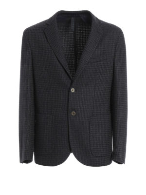 Paolo Fiorillo Capri: blazers - Wool blend unstructured blazer