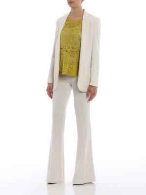 Paolo Fiorillo Capri: blouses online - Lime lace blouse