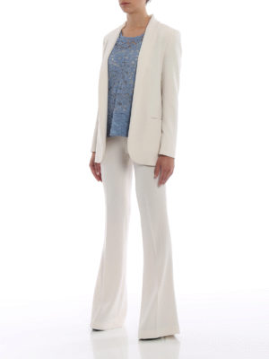 Paolo Fiorillo Capri: blouses online - Powder blue lace blouse