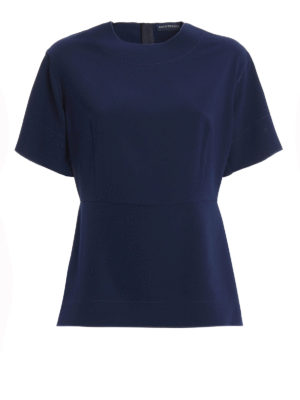 Paolo Fiorillo Capri: blouses - Wide sleeves detailed cady blouse