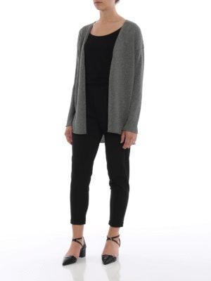 Paolo Fiorillo Capri: cardigans online - Grey viscose blend cardigan