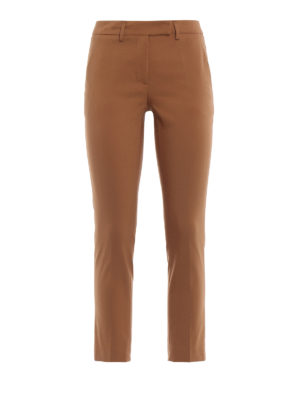 Paolo Fiorillo Capri: casual trousers - Cotton blend chino trousers