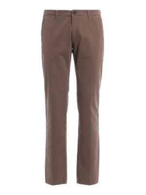 Paolo Fiorillo Capri: casual trousers - Slim fit chino trousers