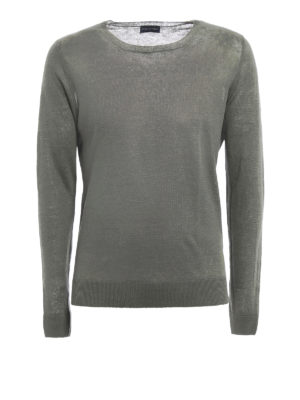 Paolo Fiorillo Capri: crew necks - Lightweight linen sweater