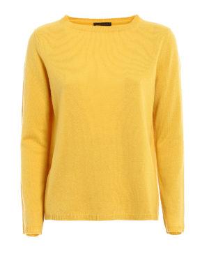 Paolo Fiorillo Capri: crew necks - Longer back wool blend sweater