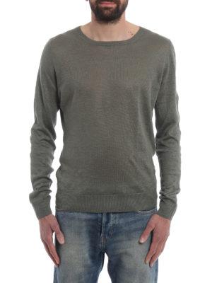 Paolo Fiorillo Capri: crew necks online - Lightweight linen sweater
