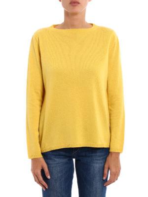 Paolo Fiorillo Capri: crew necks online - Longer back wool blend sweater