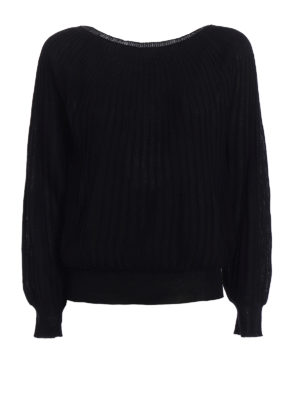 Paolo Fiorillo Capri: crew necks - Rib knitted merino wool sweater