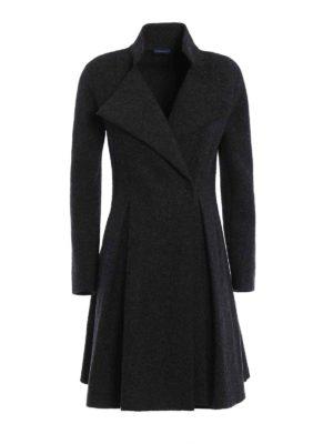 Paolo Fiorillo Capri: knee length coats - Flared hem wool coat