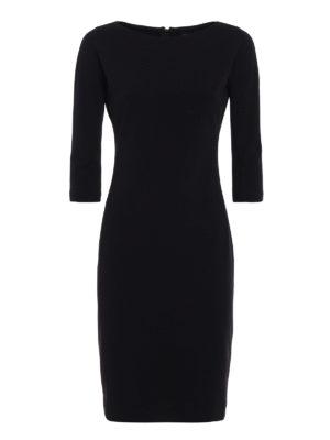 Paolo Fiorillo Capri: knee length dresses - Jersey crepe sheath dress