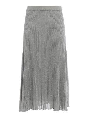 Paolo Fiorillo Capri: Knee length skirts & Midi - Knitted skirt