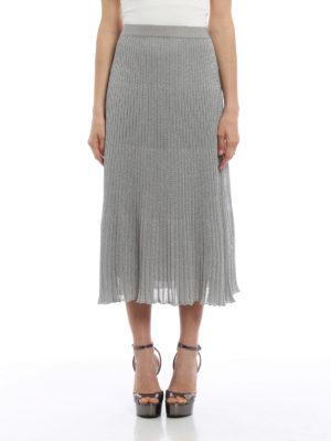 Paolo Fiorillo Capri: Knee length skirts & Midi online - Knitted skirt