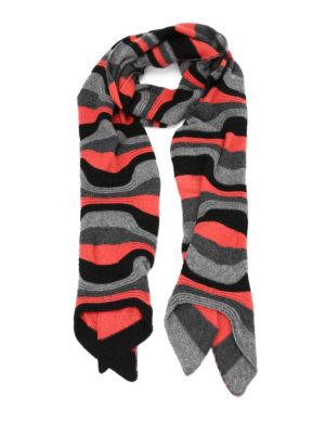 Paolo Fiorillo Capri: scarves - Horizontal ribbed scarf