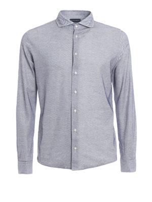 Paolo Fiorillo Capri: shirts - Jersey jacquard shirt