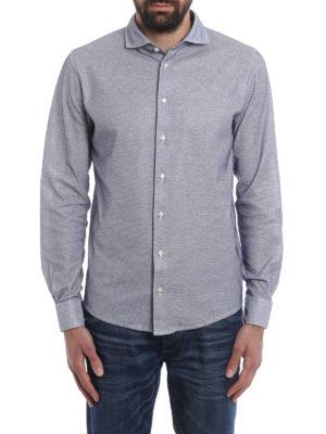 Paolo Fiorillo Capri: shirts online - Jersey jacquard shirt