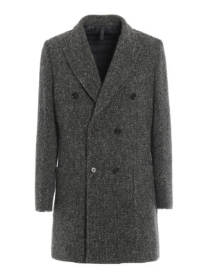 Paolo Fiorillo Capri: short coats - Boucle wool double-breasted coat