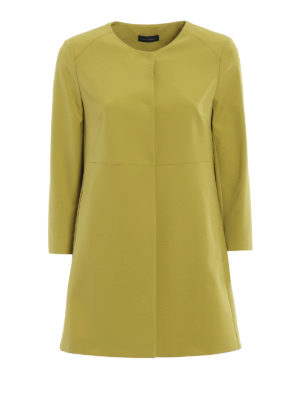 Paolo Fiorillo Capri: short coats - Lime dust coat