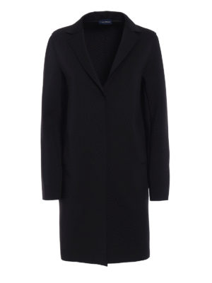Paolo Fiorillo Capri: short coats - Neoprene-inspired fabric coat