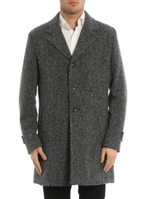 Paolo Fiorillo Capri: short coats online - Boucle wool single-breasted coat