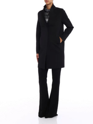 Paolo Fiorillo Capri: short coats online - Neoprene-inspired fabric coat