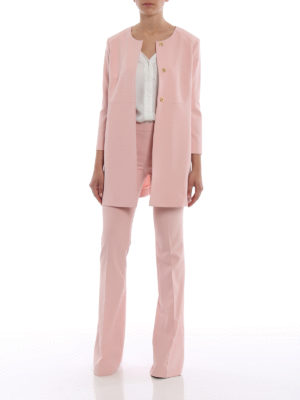 Paolo Fiorillo Capri: short coats online - Pink dust coat