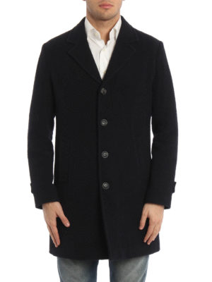 Paolo Fiorillo Capri: short coats online - Wool and silk single-breasted coat