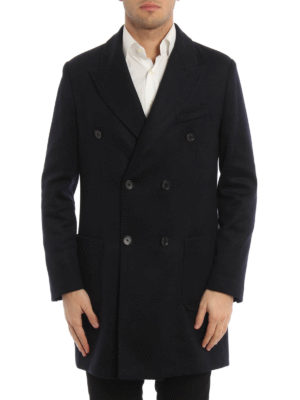 Paolo Fiorillo Capri: short coats online - Wool blend double-breasted coat