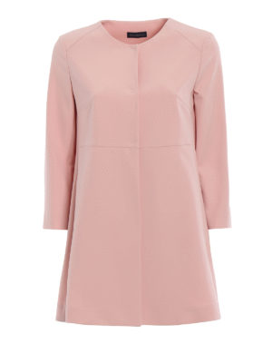 Paolo Fiorillo Capri: short coats - Pink dust coat